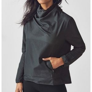 Fabletics Liora Pullover perforated cinch waist